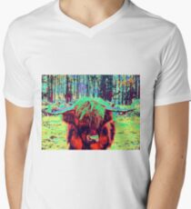 Brightening Up A Dull Day Men's V-Neck T-Shirt