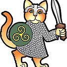 Viking Kitty by greyhand
