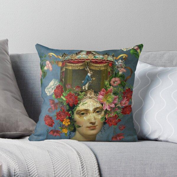 Keeper of Wonderland Throw Pillow