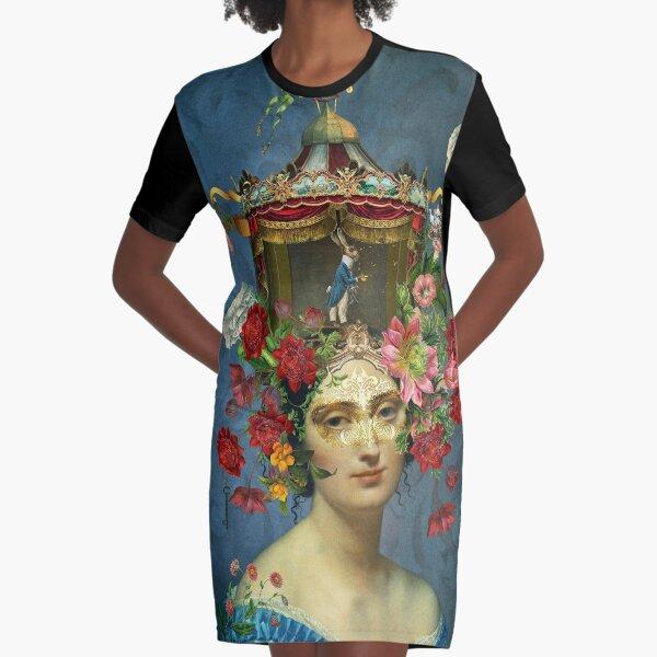 Keeper of Wonderland Graphic T-Shirt Dress