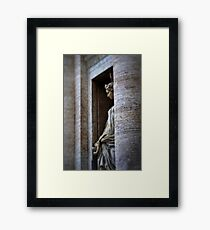 Roman Statue Framed Print