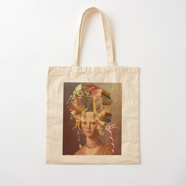 keeper of Stories Cotton Tote Bag