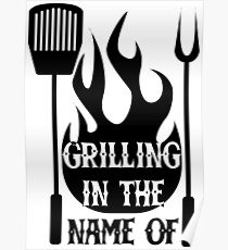 barbeque posters redbubble