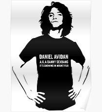 Dan Avidan Loves Haikus Poster