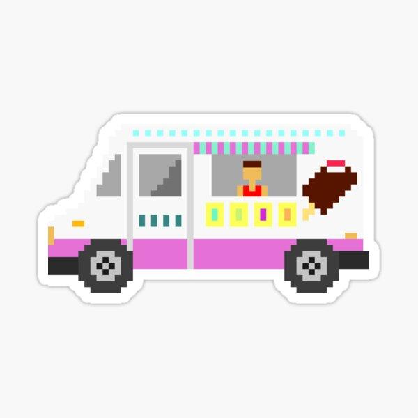 Ice Cream Truck - The Kids' Picture Show Sticker