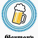 Germany 1 Beer (Munich Bavaria) by MrFaulbaum