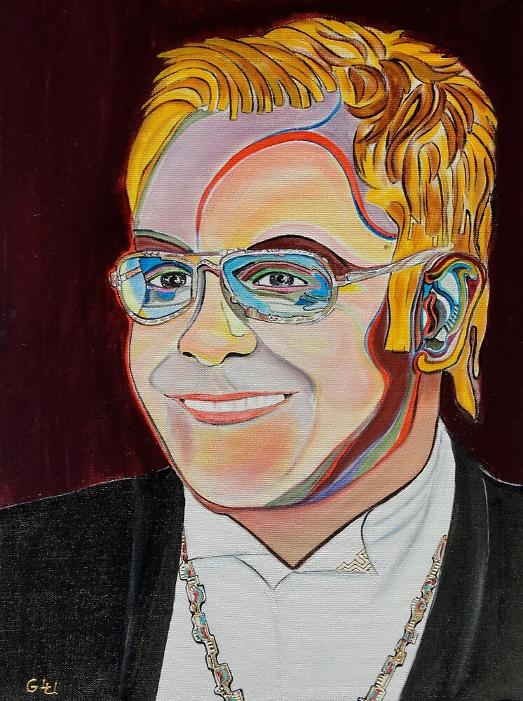 Sir Elton by Giselle Luske