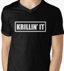 Krillin' It Men's V-Neck T-Shirt