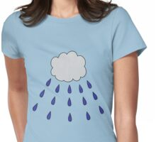 Cry Baby Cloud Womens Fitted T-Shirt