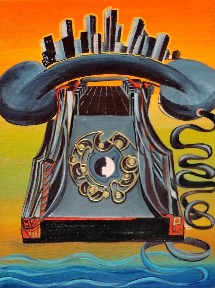 Phone by Giselle Luske
