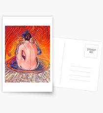 Acupuncture Energy Postcards