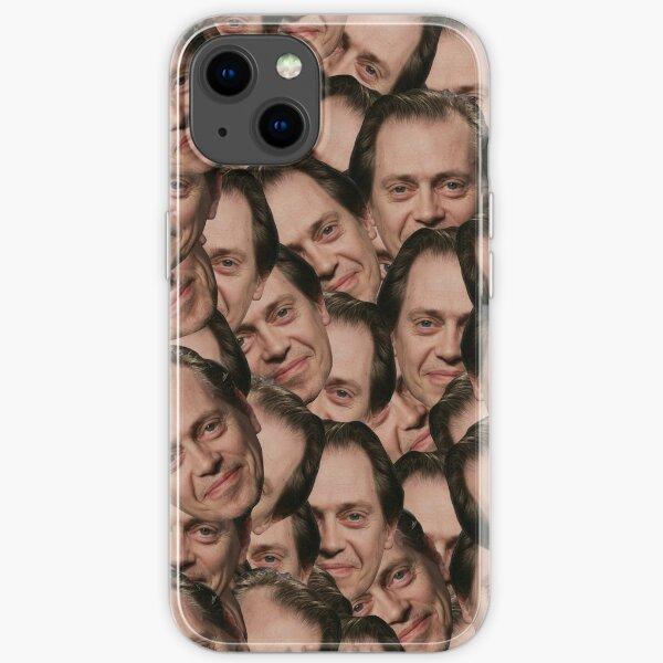 Steve Buscemi texture iPhone Soft Case