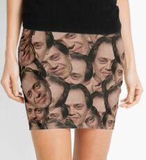 Steve Buscemi texture Mini Skirt