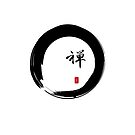 """Zen"" calligraphy & Enso circle of enlightenment by cinn"