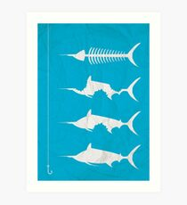 Oldman and The Sea Art Print