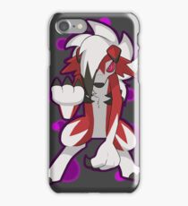 Pokemon - Lycanroc Midnight Form iPhone Case/Skin