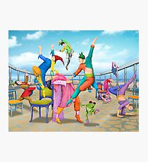 Ten Dancers Photographic Print