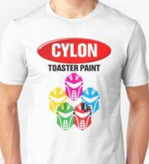 Cylon Toaster Paint Unisex T-Shirt