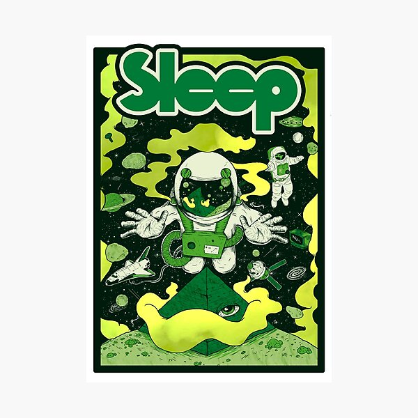 Holy mountain - Sleep Photographic Print