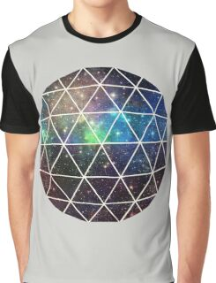 Space Geodesic  Graphic T-Shirt