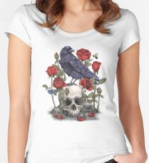 Memento Mori  Women's Fitted Scoop T-Shirt