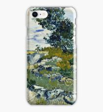Vincent Van Gogh -  Rocks, 1888  iPhone Case/Skin