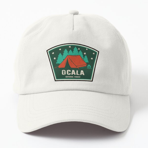 Ocala National Forest Camping Dad Hat