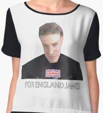 GoldenEye 007 For England James Chiffon Top