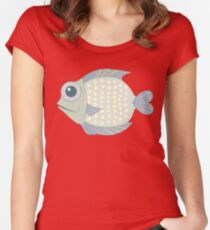 A Cool Fish Women's Fitted Scoop T-Shirt
