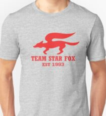 Star Fox Emblem Red Unisex T-Shirt