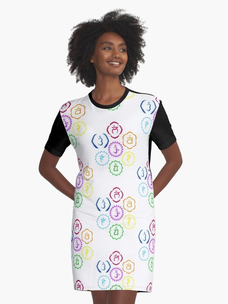Chakra T-Shirt Dress