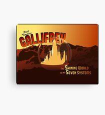 Visit Timeless Gallifrey (New) Canvas Print