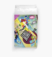 Kandinsky-Black Grid Duvet Cover