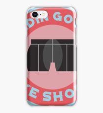Bleedin Gooch's Bike Shorts iPhone Case/Skin