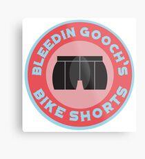 Bleedin Gooch's Bike Shorts Metal Print