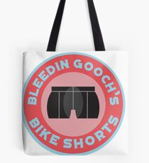 Bleedin Gooch's Bike Shorts Tote Bag