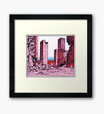 Katsuhiro Otomo Destruction Framed Print