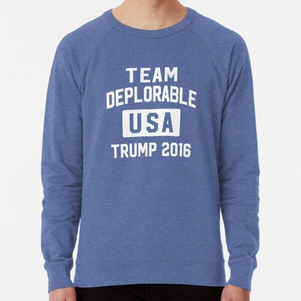 Team Deplorable Lightweight Sweatshirt