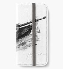 Challenger 2 tank iPhone Wallet/Case/Skin