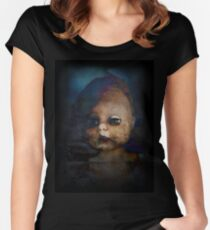 Zombie Doll Women's Fitted Scoop T-Shirt