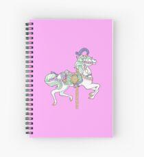 Carousel Horse Spiral Notebook