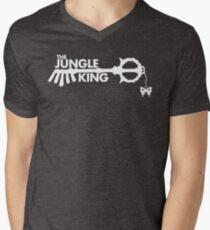 The Jungle King Men's V-Neck T-Shirt