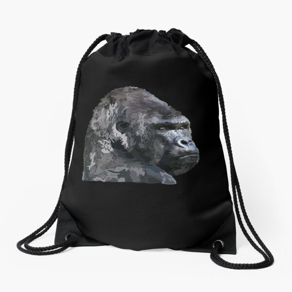 Gorilla-Designartikel Turnbeutel