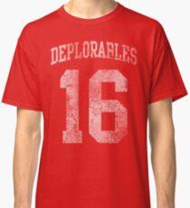 Deplorables 2016 Classic T-Shirt