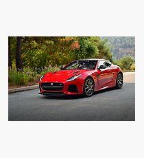 Jaguar F-type SVR Photographic Print
