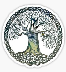 CELTIC KNOTS TREE OF LIFE - spring Sticker