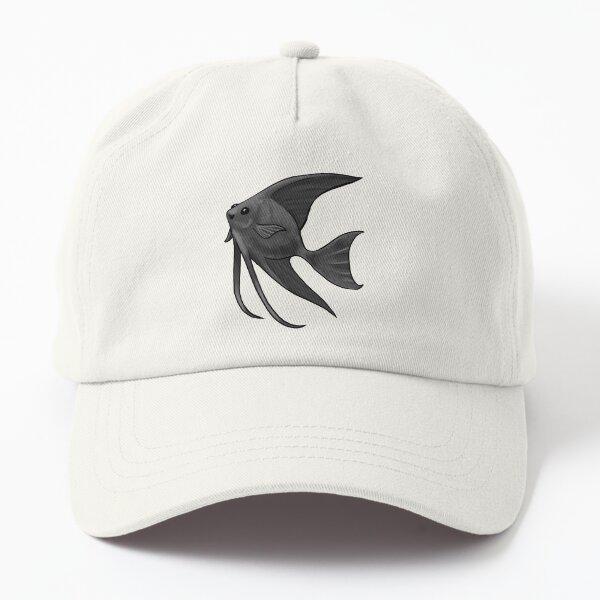 Black Lace Angelfish Dad Hat
