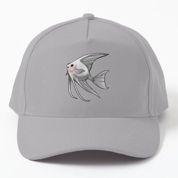 Platinum Blushing Angelfish Baseball Cap
