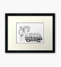 Combi volkswagen Framed Print