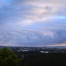 Morning Clouds Over The Sunshine Coast by Hugh Fathers